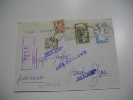 Lettre Philatélique En Poste Restante Censuré Urzad Cenzury Pour Pologne 1982 ; Retour à L'Envoyeur Voir Scan - Marcophilie (Lettres)