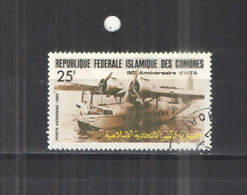 Comores Isle  1986 Aereomobili Scott.C 153 See Scan On Album Tematica Aerei; - Isole Comore (1975-...)