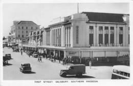 Rhodésie / 04 - Salisbury - First Street - Zambie