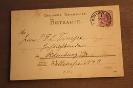 ( 1358 ) GS DR  P 18 Gelaufen  -   Erhaltung Siehe Bild - Allemagne