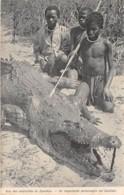 Rhodésie / 05 - Une Des Notabilités Du Zambèse - Crocodile - Sambia