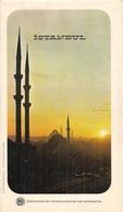 ISTANBUL (TURKIYE) - DÉPLIANT TOURISTIQUE - PLAN DE LA VILLE (1966) - Asie & Proche Orient