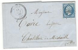 11199 - PONCIN Type  22 - 1849-1876: Période Classique