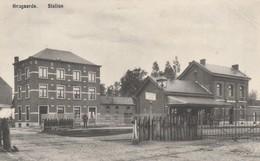 Hougaerde  , Station , Passage à Niveau  ( Statie ,train , Gare Intérieur ) - Hoegaarden