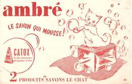 Buvard Ambré Le Savon Qui Mousse 2 Produits Savons LE CHAT - Produits Ménagers