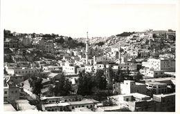 Jordan, AMMAN, Partial View, Minarets Al-Husseini Mosque, Islam (1950s) RPPC (1) - Jordanie