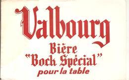 """Buvard Valbourg Bière """"Boch Spécial"""" Pour La Table - Liqueur & Bière"""