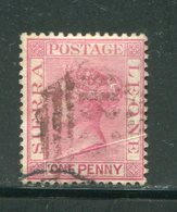 SIERRA LEONE- Y&T N°20- Oblitéré - Sierra Leone (...-1960)