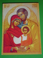 "SACRA FAMIGLIA Loreto 2015 ""Papa Francesco - Preghiera Per Il Prossimo Sinodo"" - Santino - Santini"