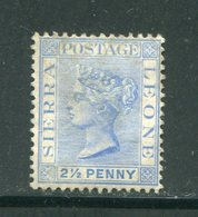 SIERRA LEONE- Y&T N°24- Oblitéré - Sierra Leone (...-1960)