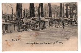 7094, Feldpost, Unterstände Am Kanal Bei Loivre - Guerre 1914-18