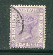 SIERRA LEONE- Y&T N°21- Oblitéré - Sierra Leone (...-1960)
