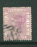 SIERRA LEONE- Y&T N°22- Oblitéré - Sierra Leone (...-1960)