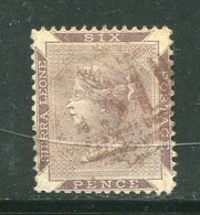 SIERRA LEONE- Y&T N°16A- Oblitéré - Sierra Leone (...-1960)
