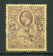 SIERRA LEONE- Y&T N°100- Oblitéré - Sierra Leone (...-1960)