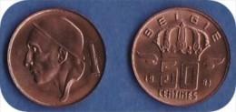 *BAUDOUIN*50 CENTIMES*1981 (Flamande) Grosse Tête ****ISSUE DU SET FDC**** - 03. 50 Centiem
