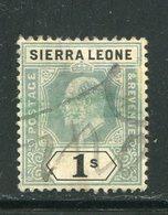 SIERRA LEONE- Y&T N°71- Oblitéré - Sierra Leone (...-1960)