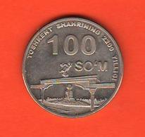 Uzbekistan 100 Som So'm 2009 - Uzbekistan