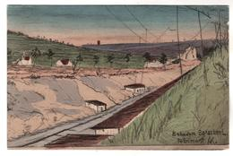 2911, Feldpost, Bahndam-Baracken, Brimont - Guerre 1914-18