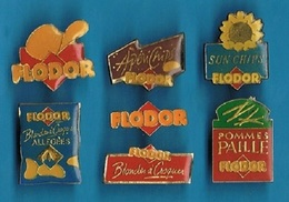 6 PIN'S //  ** CHIPS FLODOR ** - Pin's