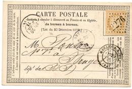 N° 59 Sur Carte De Mauléon (64) Pour Bruges (64) GC 2276 - 1849-1876: Classic Period