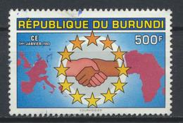 °°° BURUNDI - Y&T N°990 - 1993 °°° - 1990-99: Usati