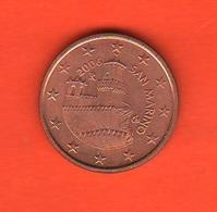 5 Centesimi Euro San Marino 2006 - San Marino