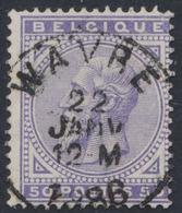 "émission 1883 - N°41 Obl Simple Cercle ""Wavre"" - 1883 Léopold II"