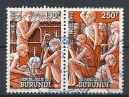 °°° BURUNDI - Y&T N°1009/10 - 1993 °°° - 1990-99: Usati