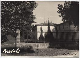 RENDOLA MONTEVARCHI  AREZZO  Cartolina  Viaggiata 1963 - Arezzo