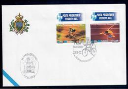 SAN MARINO  2002 - POSTA PRIORITARIA - FDC - FDC