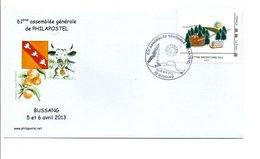 MONTIMBRAMOI 61 EME ASSEMBLEE PHILAPOSTEL à BUSSANG VOSGES 2013 - France