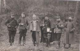 Carte Photo Groupe De Militaires - Guerre 1914-18