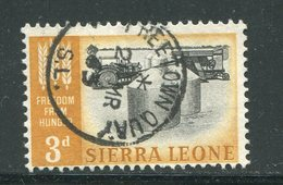 SIERRA LEONE- Timbre Oblitéré - Sierra Leone (...-1960)