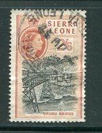 SIERRA LEONE- Y&T N°190- Oblitéré - Sierra Leone (...-1960)