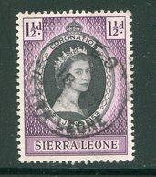 SIERRA LEONE- Y&T N°180- Oblitéré - Sierra Leone (...-1960)