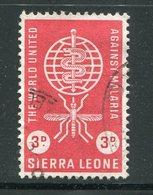 SIERRA LEONE- Timbre De 1962- Oblitéré - Sierra Leone (...-1960)
