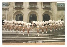 CPA 87 MAJORETTES DE LIMOGES à La Cavalcade De Montargis 1989 - Vue Partielle De La Troupe - Limoges
