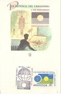 ARGENTINA ORGANIZATION WORLDWIDE URBANISM (GEN190028) - FDC