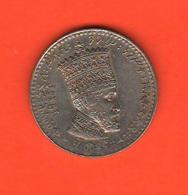 Etiopia 50 Matonas 1931 Haile Selassie I° - Ethiopie