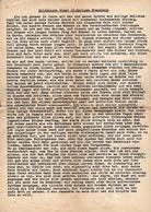 4 Pages Récit érotique Tapée En 1938 Par Un Soldat Allemand Racontant Ses ébats Amoureux Avec Une Française De 16 Ans - Old Paper