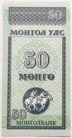 Billete Mongolia. 50 Mongo. 1993. Caballos. Sin Circular - Mongolie