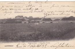 88. NEUFCHATEAU. .CPA. LES CINQ PONTS. PASSAGE INTERDIT. ANNEE 1907 - Neufchateau