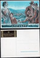 "GERMANIA Reich Cartolina ""Vacanze"" Non Viaggiata. - Cartes Postales"