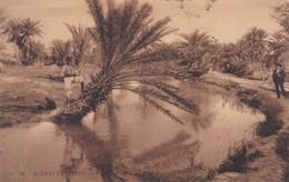 SCENES ET TYPES. VUE SUR L'OUED. LL. CIRCULEE 1907 TUNIS A MARSEILLE - BLEUP - Tunesië