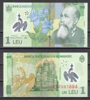 Romania 2005 / 1 Leu / UNC - Polymer - Roumanie