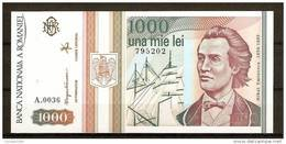 ROMANIA 1993 / 1.000 LEI / UNC - Roumanie