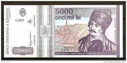 ROMANIA 1993 / 5.000 LEI / UNC - Roumanie