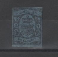 Allemagne_ ( Oldenbourg  - Grand Duché ) N° 6 (1858 ) - Oldenbourg