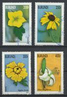 °°° BURUNDI - Y&T N°1073/74/75/77 - 2002 °°° - Burundi